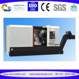10의 역 유압 포탑 기울기 침대 CNC 도는 센터 Ck63L