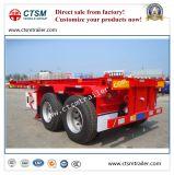 2-as 20FT het Skelet van de Container/Aanhangwagen van de Vrachtwagen van het Kader de Semi