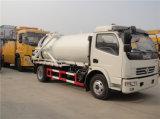 Nouveau camion d'aspiration d'eaux d'égout de vide de Dongfeng 6000L à vendre