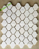 Mosaico de mármore preto barato Polished da fábrica de China