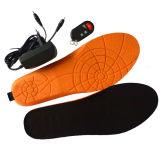 ライオン電池が付いているリモート・コントロール熱くする靴の中敷