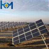 250W vidro Tempered de vidro de painel solar de 270W Monocrystaline ao Baixo-e