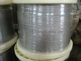 веревочка провода 0.3mm-12mm нержавеющей стали 7*7/6*7+Wsc/6*7+FC