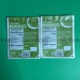 Plastikgesichtsschablonen-verpackenbeutel mit Reißverschluss