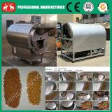 Totalmente de acero inoxidable de arroz, harina de arroz, cáscara de arroz Máquina tostador eléctrico