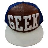 Изготовленный на заказ бейсбольная кепка Snapback с PU передним Gjfp17183