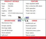Batería de plomo recargable FM100 para el sistema eléctrico solar