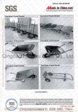 Carrinho de mão de roda e Wheelbarrow profissionais do jardim (WB 6400C)