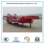 Advanced 3 Axles Low Bed Semi Trailer From China Supplier