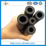 Industrieller umsponnener flexibler Gummihochdruckschlauch