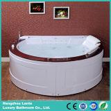多彩なLEDが付いている波のHydromassageの贅沢な浴槽はつく(TLP-677)