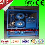 Macchina di trattamento dell'olio del separatore di acqua dell'olio isolante, pianta di rigenerazione dell'olio