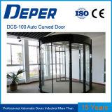 Дешево автоматическая изогнутая раздвижная дверь Dcs-100