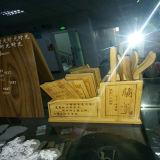 Laser, der das Maschinen-Laser-Markierungs-Maschinen-Holz bearbeitet keramische Gravierfräsmaschine schnitzt