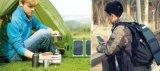 屋外Solar Energy Bag Solar Chargersのための防水7W Solar Power Charger Bag