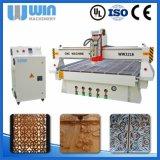 Acrílico de Atc1530L, madeira compensada, folha plástica, máquina de estaca do CNC do ATC do PVC