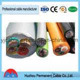 PVC da baixa tensão isolado abrigando o fio flexível de Rvv do fio