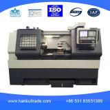 Máquina do torno do metal Cknc6163, máquina de processamento de alta velocidade