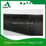 deformación del 100kn/M que hace punto el poliester biaxial Geogrid con la capa del PVC