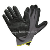 Puntini su Palm Foam Nitrile Gloves Safety Work Mechanix Gloves