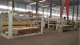 Madeira compensada que lamina a máquina quente da imprensa