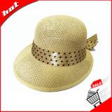 Chapéu de papel tecido de Sun do chapéu de palha