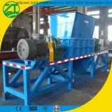 Le plastique/caoutchouc solide/acier de rebut/peuvent/pneus/arbre biaxiale/usine en bois industrielle de défibreur