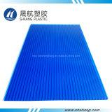 Scheda di plastica approvata del tetto della parete del gemello del policarbonato dello SGS