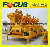 Смеситель Js1000 50-60cbm/H популярного твиновского вала конкретный, электрическое изготовление конкретного смесителя