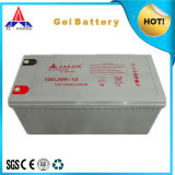 Gel recargable Battery para Solar Use12V200ah