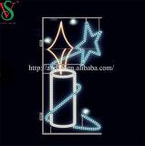 Weihnachtsstraße LED beleuchtet LED-Stern-Motiv-Leuchte