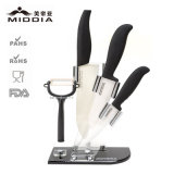 5PCS Knife Setの陶磁器のKitchenware