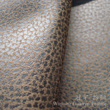Tessile domestica decorativa che bronza il tessuto di cuoio della pelle scamosciata per mobilia