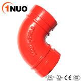 Ferro Ductile Grooved de alta pressão da boa qualidade cotovelo de 22.5 graus