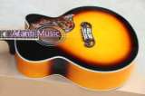 Guitarra acústica superior Spruce cortante de Aj200 Afanti (AJ200C)