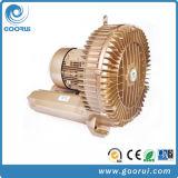 Bomba de vacío de alta presión del ventilador del anillo del ventilador de la alta aireación regenerador trifásica del aire