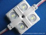 módulo impermeável da injeção do diodo emissor de luz de 4chips 12V 5730