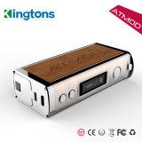 La mejor Mod del rectángulo de Mods Kingtons Atmod 60W Vape del rectángulo de VW/VV/Tc
