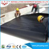 Membrana da telhadura da única dobra EPDM da fonte do fabricante para o telhado liso