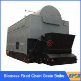 Caldeira de madeira do incêndio do aquecimento central de água quente para a indústria
