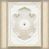 Luces de techo artísticas lujosas, artes del techo, azulejo del techo, medallón de Retangle
