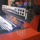 PE de una sola capa / capa doble Co-extrusión de la máquina de la película del estiramiento (SF-500)