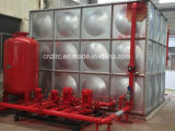 El tanque del tratamiento de aguas del acero inoxidable
