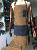 Tela encerada da lona do trabalho pesado da alta qualidade avental feito sob encomenda