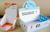 Gewölbtes Papier-Geschenk-Kasten-Farben-Verpackungs-Karton-Schaukarton (D17)