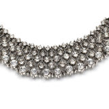 Kate Middleton с ретро полным ожерельем сплава диаманта