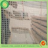 Gravura a água-forte inoxidável do espelho da chapa de aço dos pés 304 do GV 4*8 para a decoração da parede