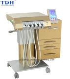 Cadeira dental do sistema Multifunctional luxuoso do implante do projeto do ouro (Gold-8)