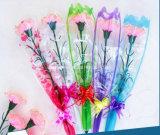 Втулки свежих цветков HDPE мешки ясной пластичной упаковывая при напечатанное изображение