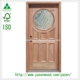 Doppelte Blatt-festes Holz-Sicherheits-außentür